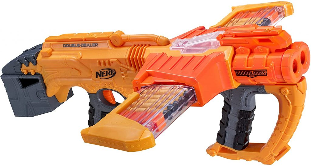 fusil nerf Doomlands Double Dealer
